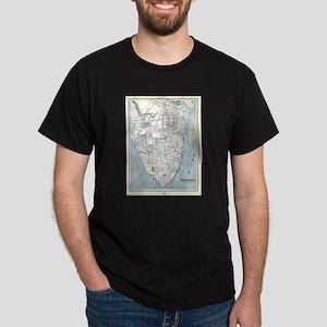 Vintage Map of Charleston South Carolina ( T-Shirt