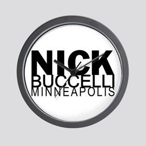 Nick Buccelli Minneapolis Wall Clock