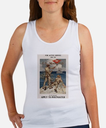For Active Service Women's Tank Top