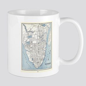 Vintage Map of Charleston South Carolina (189 Mugs