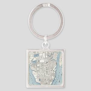 Charleston sc keychains cafepress vintage map of charleston south carolina keychains negle Gallery