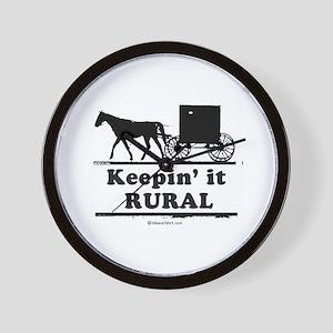 Keepin' it rural ~  Wall Clock