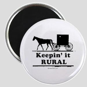 Keepin' it rural ~ Magnet