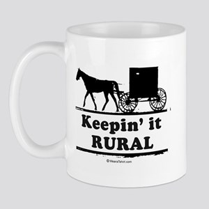 Keepin' it rural ~  Mug