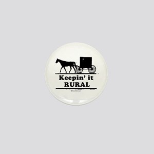 Keepin' it rural ~ Mini Button