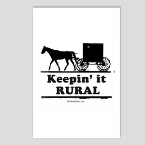 Keepin' it rural ~  Postcards (Package of 8)