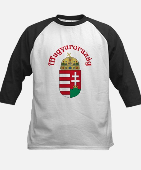 Hungary Kids Baseball Jersey