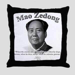 Mao Zedong 01 Throw Pillow
