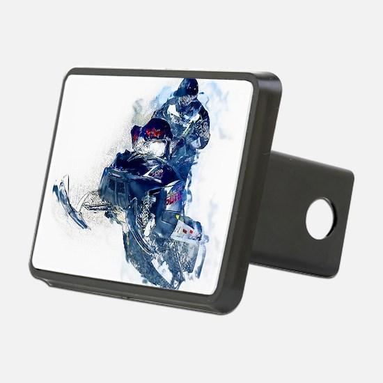 Cute Snowmobiling Hitch Cover