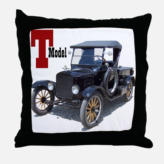 Funny Model Throw Pillow