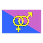 Straight Pride Flag Sticker
