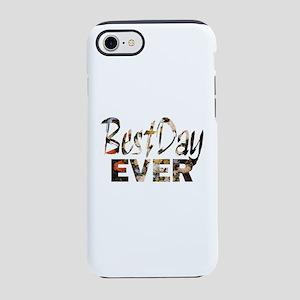 positive floral best day iPhone 7 Tough Case