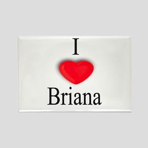Briana Rectangle Magnet