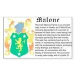Malone History Sticker