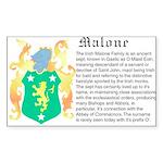 Malone History Sticker