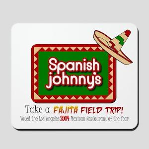 Spanish Johnny's Mousepad