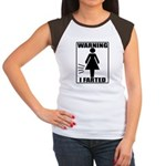 Warning I Farted Woman's Women's Cap Sleeve T-Shir