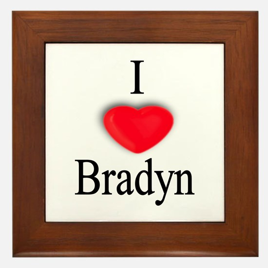 Bradyn Framed Tile