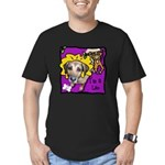 I'm a Leo Men's Fitted T-Shirt (dark)