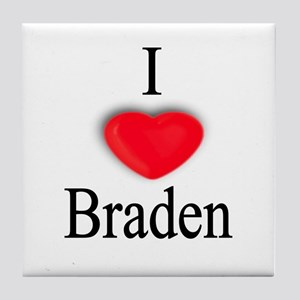 Braden Tile Coaster