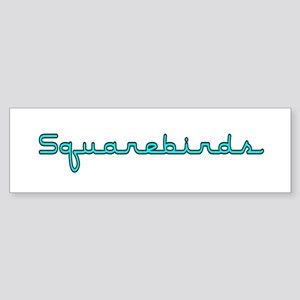 Squarebirds Bumper Sticker