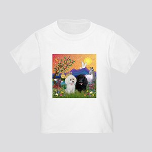 Fantasy Land & 2 Poodles Toddler T-Shirt