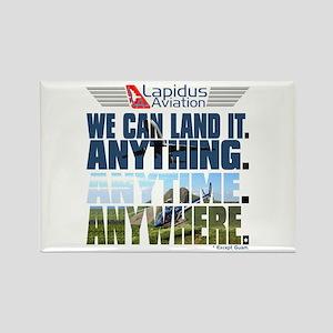 LOST Lapidus Aviation Rectangle Magnet