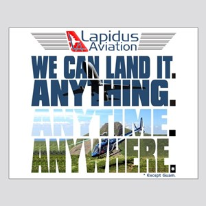 LOST Lapidus Aviation Small Poster