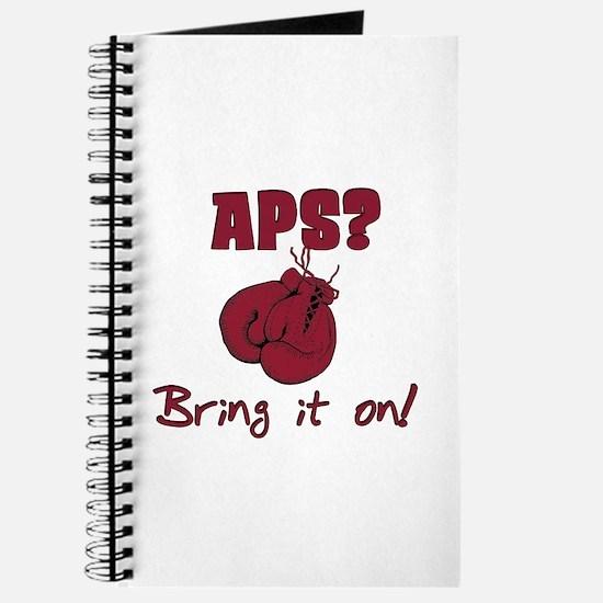APS? Bring it on! Journal
