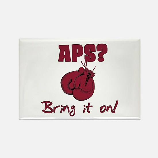 APS? Bring it on! Rectangle Magnet
