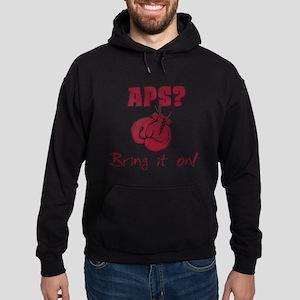 APS? Bring it on! Hoodie (dark)