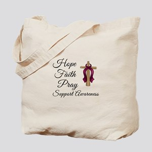 Hope Faith Pray Tote Bag