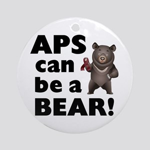 APS Can Be a Bear! Ornament (Round)