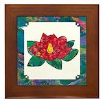 """""""Magnolia"""" Framed Tile"""
