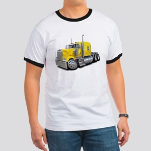 Kenworth W900 Yellow Truck Ringer T