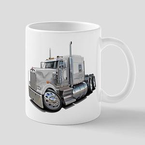 Kenworth W900 White Truck Mug