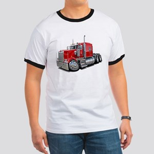 Kenworth W900 Red Truck Ringer T