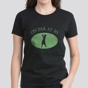 On Par At 70 Women's Dark T-Shirt