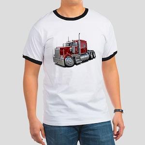 Kenworth W900 Maroon Truck Ringer T
