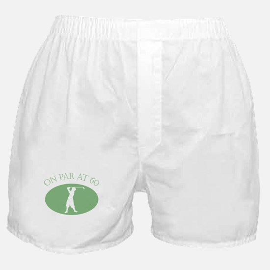 On Par At 60 Boxer Shorts