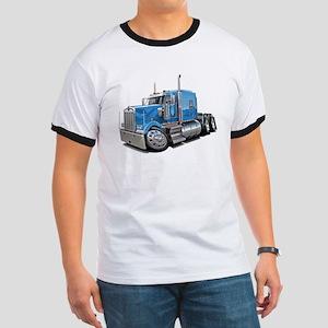 Kenworth W900 Lt Blue Truck Ringer T