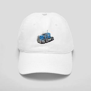 Kenworth W900 Lt Blue Truck Cap