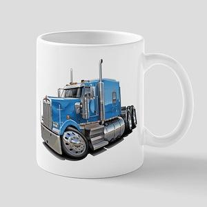 Kenworth W900 Lt Blue Truck Mug
