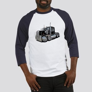 Kenworth W900 Black Truck Baseball Jersey