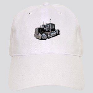 Kenworth W900 Black Truck Cap