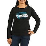 Don't You Wish Women's Long Sleeve Dark T-Shirt