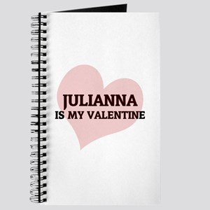 Julianna Is My Valentine Journal