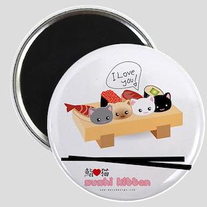 sushi kitten Magnet