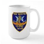 USS BRISTOL Large Mug