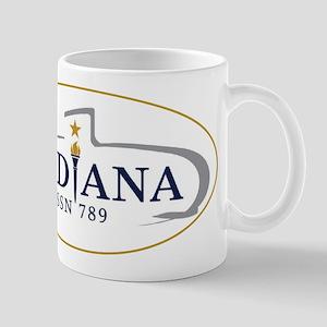PCU Indiana Crest 11 oz Ceramic Mug